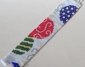 All for the Holidays Bracelet Pattern - Peyote Pattern - Beading Pattern