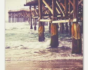Under the Pier - fine art photography print