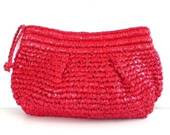 Vintage Handmade in The Philippines Crochet Clutch