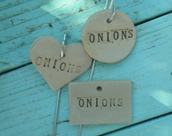Onions Plant Marker