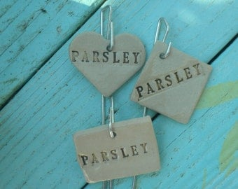 Parsley Plant Marker