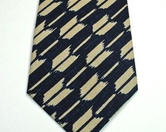 Arrow Necktie, Navy Neckties, Mens Neckties, Custom Neckties, Navy Arrow Neckties
