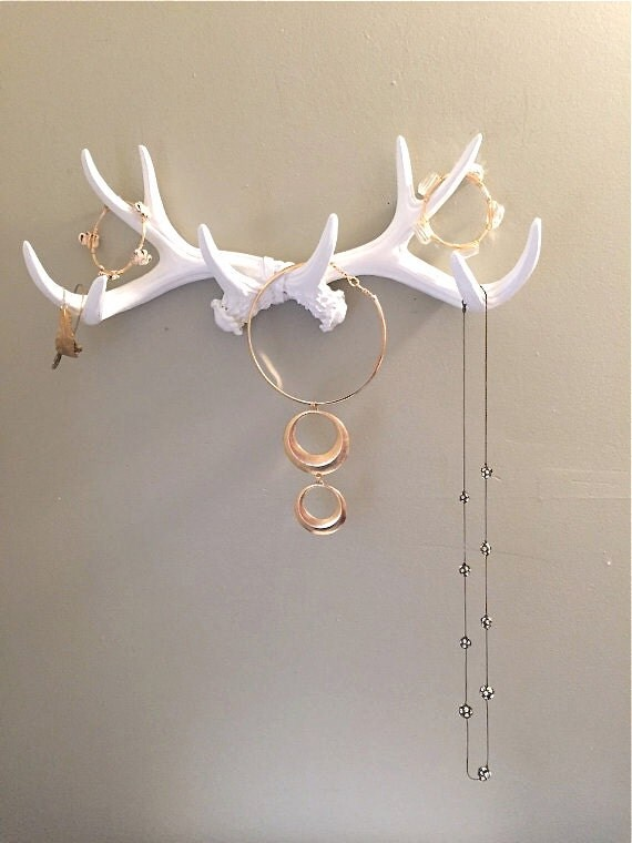 one day sale faux antler jewelry holder antler jewelry