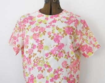 Vintage Summer Crop Blouse • Laura Mae Life Press Large