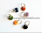 Little Gems Earth Tones Stitch Markers (Set of 6)