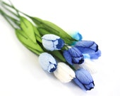 Enchanted  Passion  Series  -Tulips -Shades of Blue