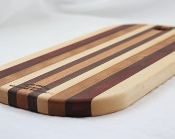 Handmade Oval Cutting Board