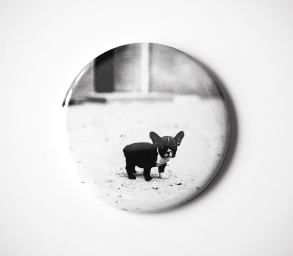 "Baby French Bulldog  - 2.25"" Magnet"