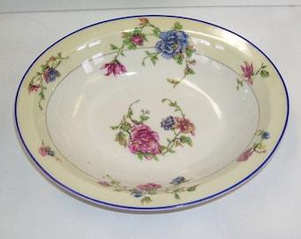 "Haviland & C0. Limoges, France, ""Angelo"" Oval Porcelain Serving Dish, Cottage Chic Design, Cottage Decor, French Country,  French Wedding"