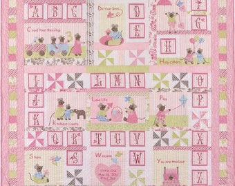 ABC's of Life Alphabet Mice Mouse Children Bunny Hill Pattern Set