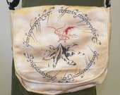 Hobbit Lonely Mountain One Ring Inspired Purse Made to Order
