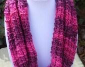 HandKnit Cowl scarf - Cowl Scarf- HandKnit cowl neck scarf - Knit Scarf-Hand Knit scarf- winter scarf- scarve- womens scarf- Valentine Scarf