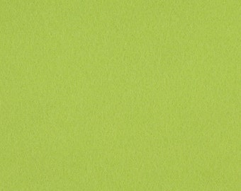 Chartreuse - 100% Pure New Wool Felt