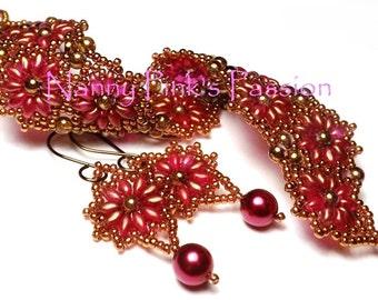 Tutorial ~ Suzannah Bracelet & Earrings