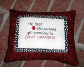Great grandma pillow