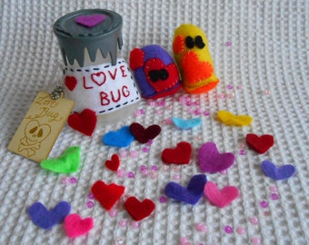 Plush Love Bug Highly Contagious valentine gift