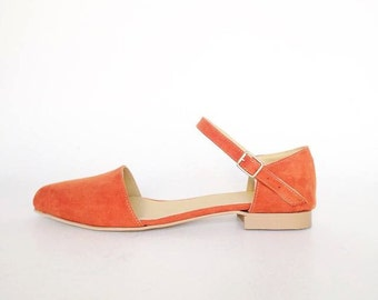 Minna Dorsay pointed skimmers flats (handmade to order)