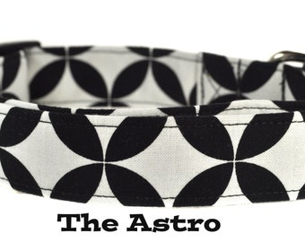 Black and White Dog Collar - The Astro