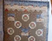 Too Many Men Quilt Kit  - Fabric, Snowman, Winter