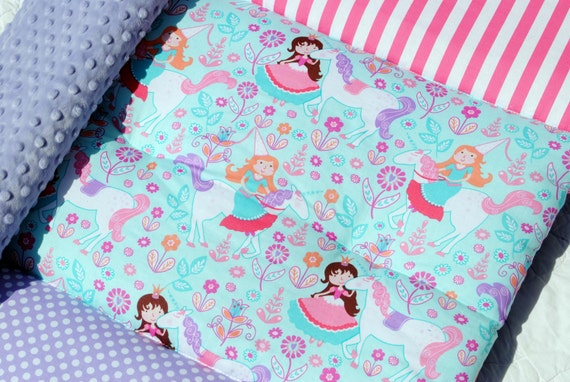New Unicorn Princess Quilted Nap Mat By Janiebee