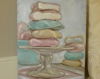 """Cookies 11"""" x 14"""" Original Oil Painting"""