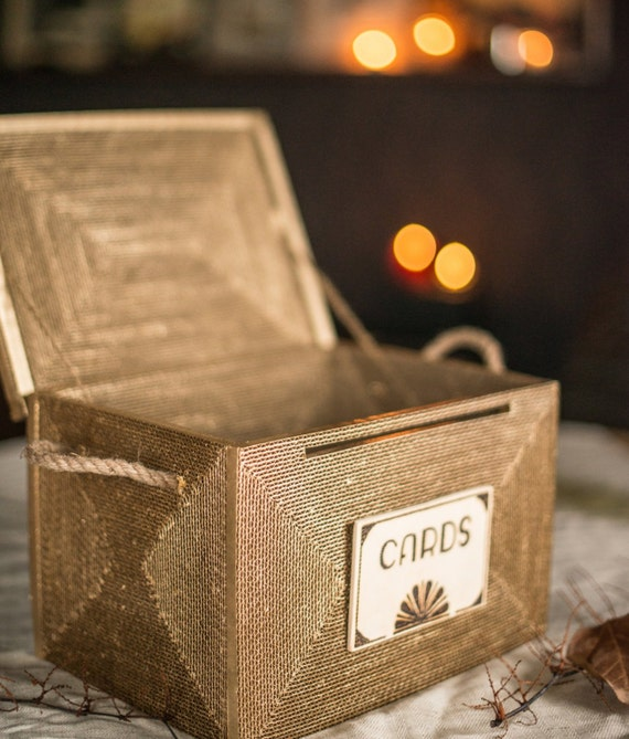 Wedding card box. Rustic card box. wedding card holder. card