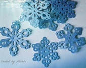Stitched Snowflakes ( Set of 24)
