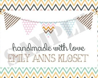 Quilt Label3 Personalized