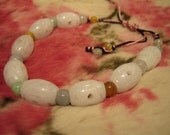 SNOWY ...  Natural Jade Bracelet ...  ... Handknotting Jewelry