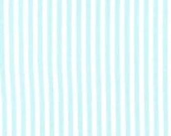 CX3584-AQUA-D Clown Stripe Aqua by Michael Miller Fabric by the Yard