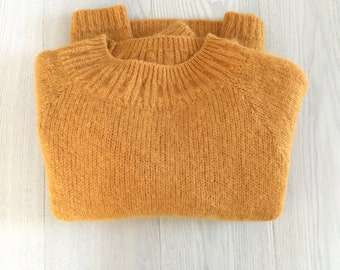 Vintage Mohair and Wool Sweater