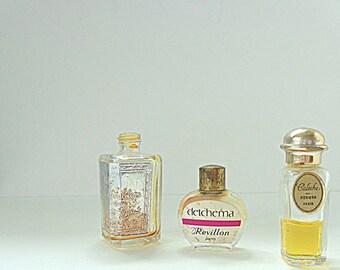 French Vintage,  Perfume Bottles,  French Decor, Vintage Bottles, Vanity Decor,