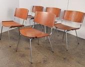 Set of 5 Nanna Ditzel Dining Chairs