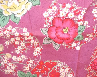 Gorgeous Floral Momen House Japanese Quilting Cotton Fabric Yardage