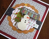 Happy Holidays - Christmas Greeting Card