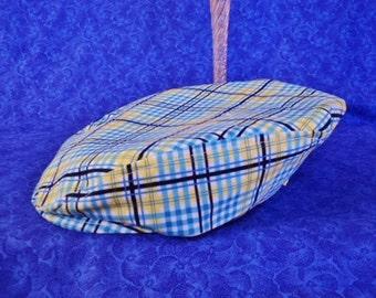 Baby Newsboy Plaid Flat Cap Golf Hat