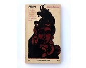 "Milton Glaser paperback book cover design, 1962. ""Phèdre"" by Jean Racine"