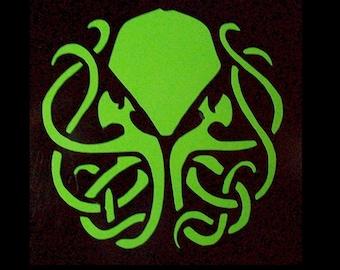 Cthulu vinyl decal sticker