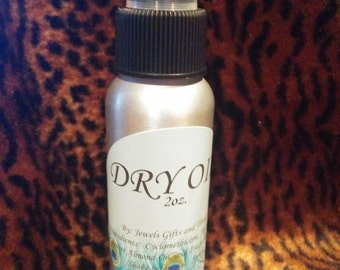 Dry Oil Spray      You Pick The Scent      2oz.