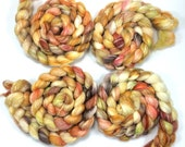 Hand Spinning Fibers Roving Combed Top Merino Bamboo Shalott