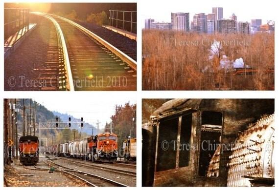 Train Photographytrain Depot Portland By Photosbychipperfield