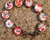 Vintage Valentine Image Bracelet