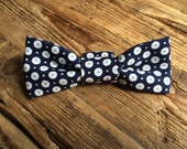Navy Little Boy Bow Tie