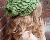 Light Green Comfy Slouchy Tam (Ready to Ship)