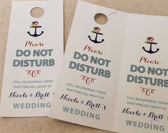 Nautical Do Not Disturb/Welcome Signs