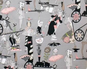A Ghastlie End- Alexander Henry Skeleton 1 Yard Fabric