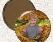 3.5 Inch Personalized Pocket Mirror With Your Own Picture or Saying  Buy 3 Mirrors Get 1 Mirror Free  010 PPLM