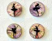 Ballerina Magnet Set  Silhouettes Buy 3 Get 1 Free  417M