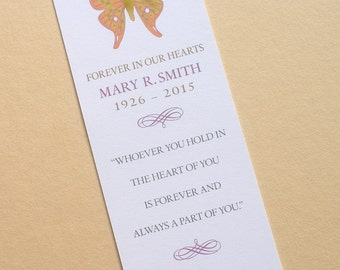 4 Different Bookmarks - Celebrate of Life Bookmarks - Pick One Design