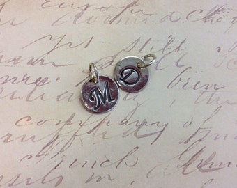 Pure Silver Wax Stamp Initial